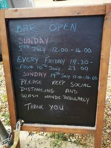 Bar open @ Carbooke Village Hall
