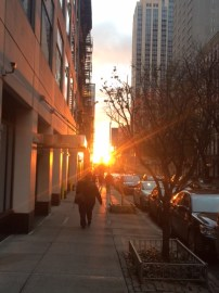 Sunrise over E71st Street