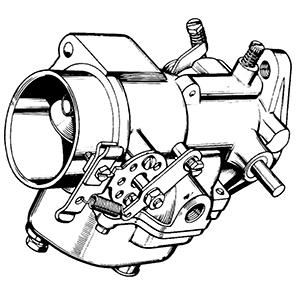 Zenith 12907 Carburetor Kit, FLoat and Manual