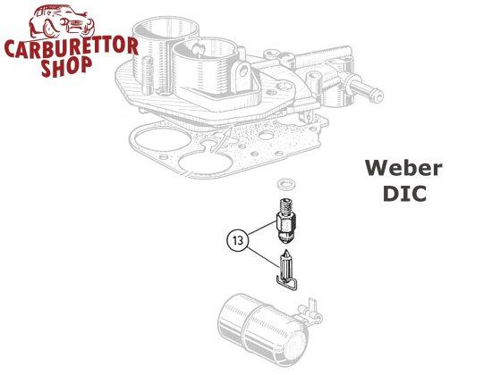 Weber DIC Carburetor Parts