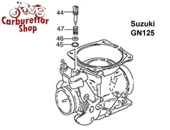 Suzuki Carburetor Parts, Rebuild Kits and Service Sets