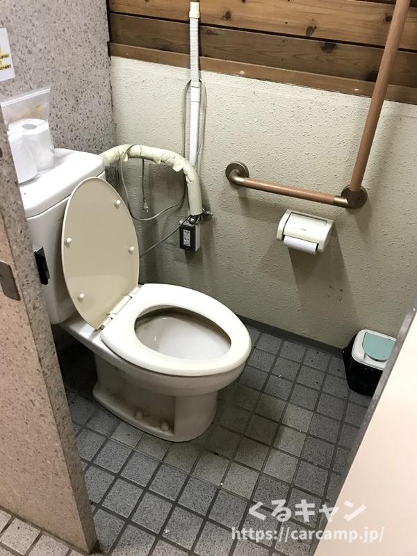 野呂山オートキャンプ場 トイレ