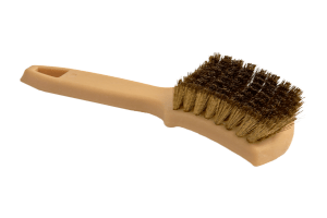 brass bristle whitewall brush