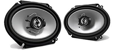 Kenwood KFC-C6865S 6x8 250 Watt 2-Way Car Audio Coaxial Speakers Stereo
