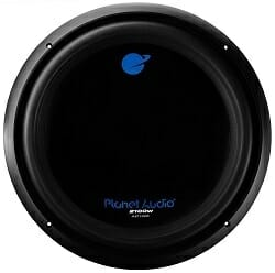 Planet Audio AC15D Voice Coil Car Subwoofer