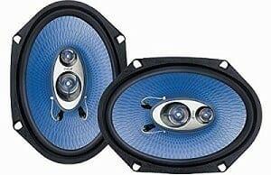 Pyle PL683BL 6 x 8-Inch 360-Watt 3-Way Speakers