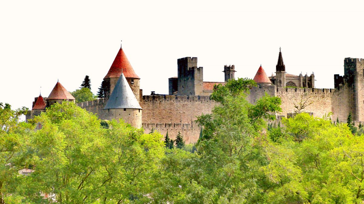 guided tour of the city of Carcassonne
