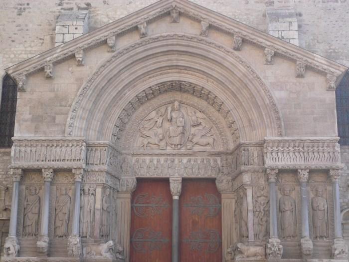 Portal de St-Trophime en Arles