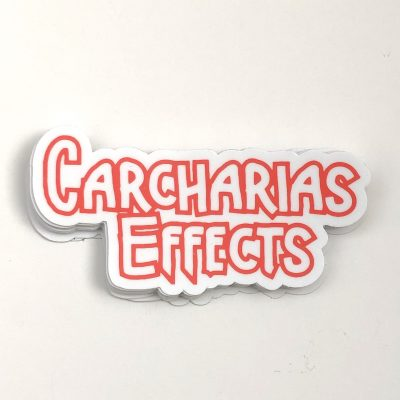 Carcharias Effects logo sticker scaled