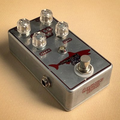 Glass Jaw Fuzz by Mask Audio Electronics modded Acapulco Gold