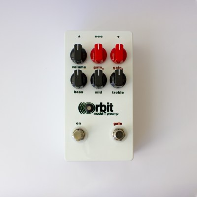 Orbit Model T Preamp front