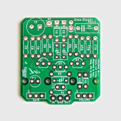 Oreo Ringer PCB Top