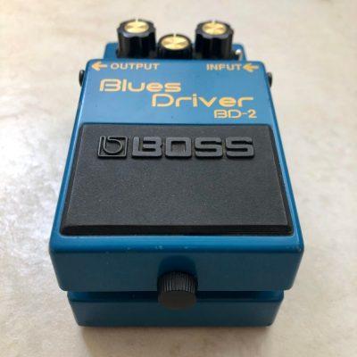 Boss BD 2 Blues Driver with KurtLives mods bottom