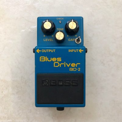 Boss BD 2 Blues Driver with KurtLives mods front