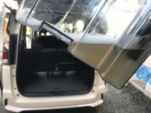 嘔吐(ゲロ)クリーニング 日産セレナ 滋賀県長浜市の車ルーム・シートクリーニング滋賀inカノアカーレンタル
