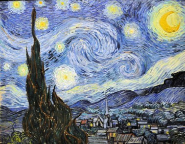 The Starry Night (Saint Remy, 1889)