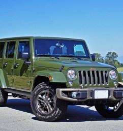 2016 jeep wrangler unlimited 75th anniversary edition road test review [ 1280 x 960 Pixel ]