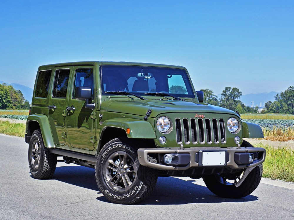 medium resolution of 2016 jeep wrangler unlimited 75th anniversary edition road test review