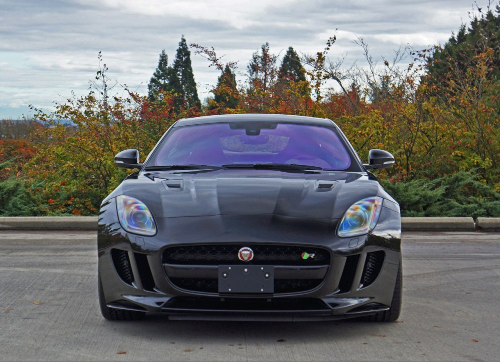 medium resolution of 2017 jaguar f type r coupe road test review