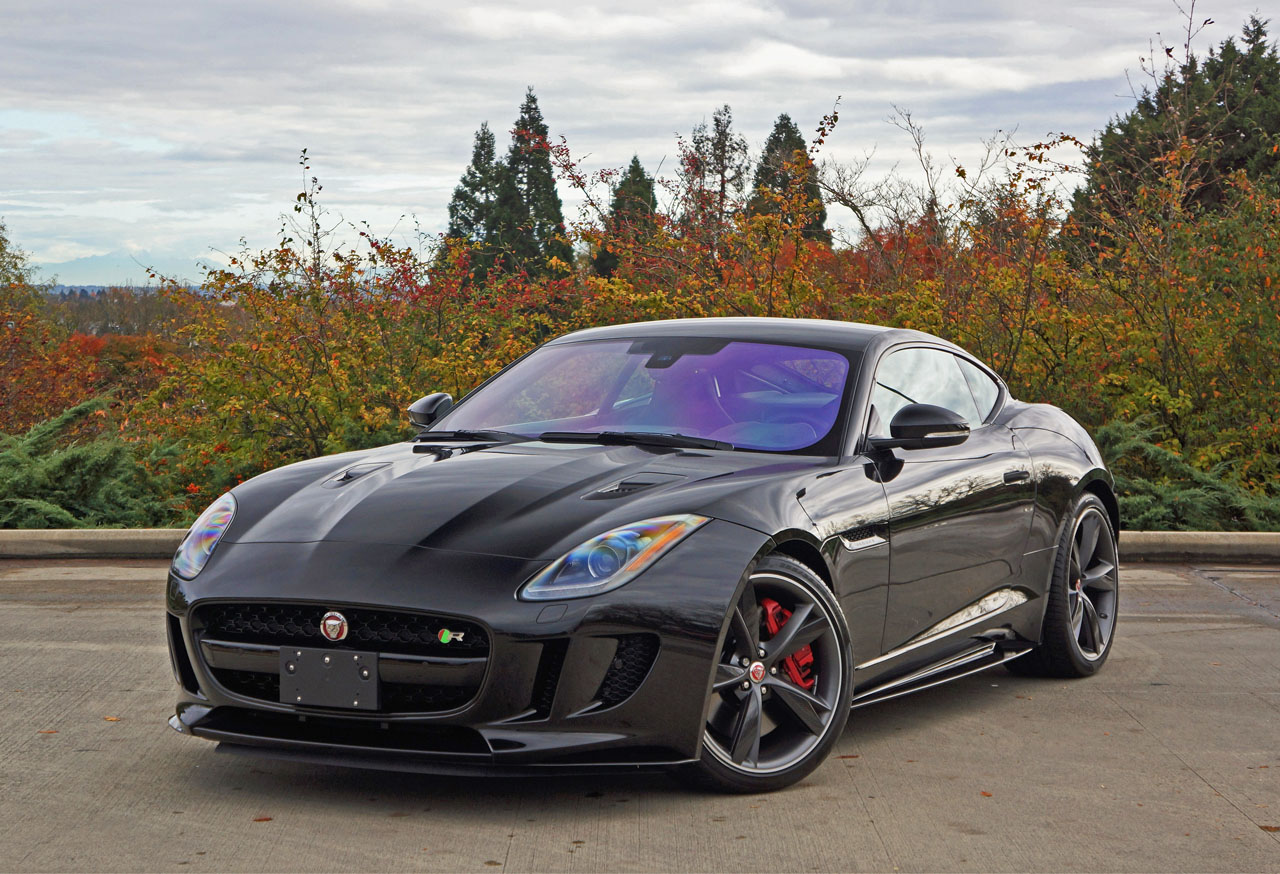 hight resolution of 2017 jaguar f type r coupe road test review