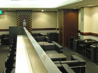 関西国際空港の空港ラウンジ「六甲」(第1ターミナルビル2階 北ウイング)