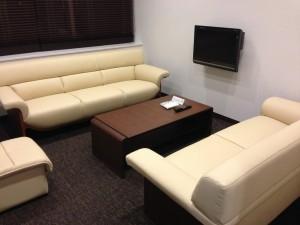 徳島空港のエアポートラウンジ ヴォルティス 個室