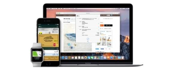 Apple Payの使えるアップルのデバイス別の利用シーンについて