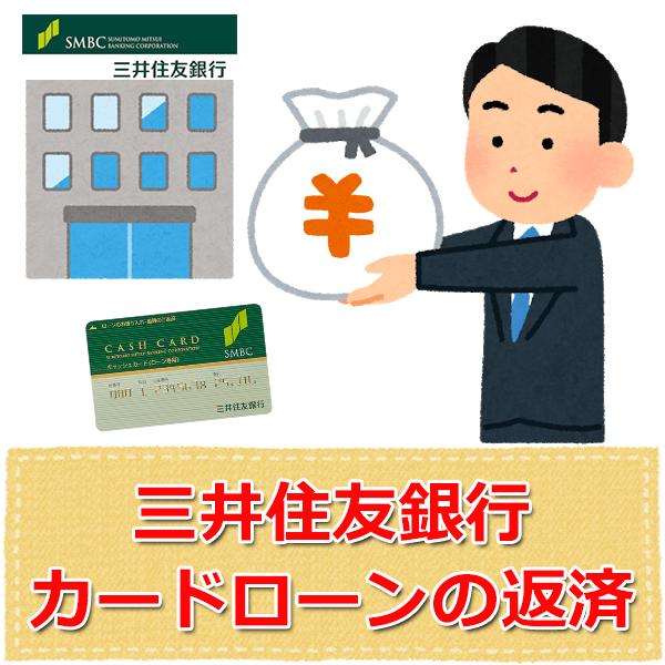 三井住友銀行カードローンの返済