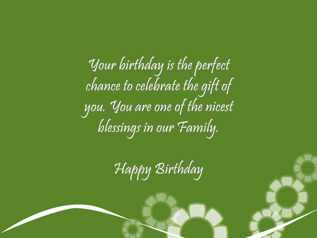 Family Birthday Verses Card Verses Greetings And Wishes