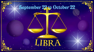 Birthday Wishes 'Libra' Cards Ideal For Friends And Family