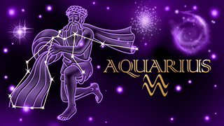 Birthday Wishes 'Aquarius' Cards Ideal For Friends And