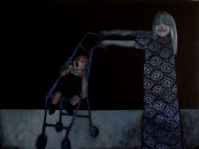 Sense títol, 2011. Tècnica mixta damunt tela. 97 x 130 cm