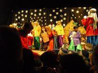 Els reis regalaren molts de regals a aquells nins que s'havien portat bé