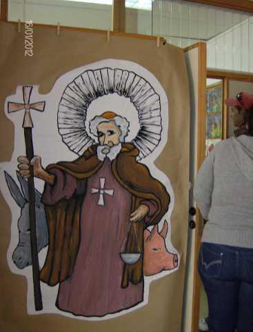Sant Antoni a Educació Infantil.