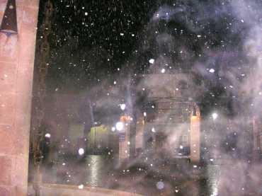 Neu a la plaça