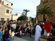 Benedicció dels Rams i Eucaristia Solemne a Sant Llorenç des Cardassar 2013005
