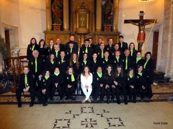 Benedicció dels Rams i Eucaristia Solemne a Sant Llorenç des Cardassar 2013011