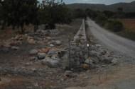 Els corredors van tenir la sort d'admirar durant el trajecte la millor paret seca del poble des dels temps d'en Parrino