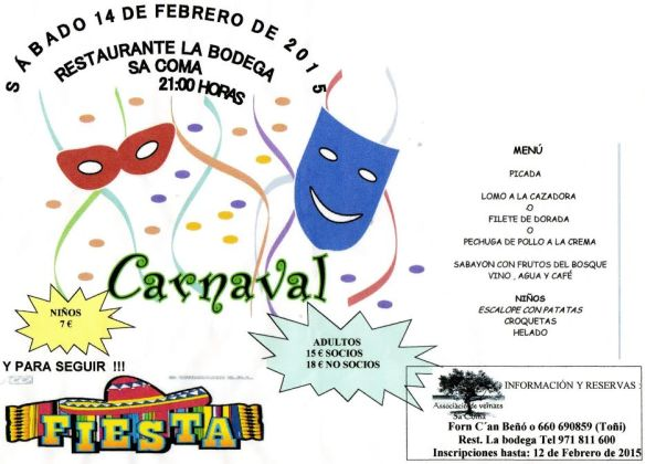 Carnaval Sa Coma