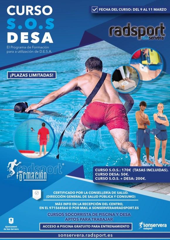 CURSO SOS Y DESA RADSPORT SONSERVERA