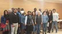 Cloenda dels cursos d'integració de nouvinguts a l'Auditòrium sa Màniga