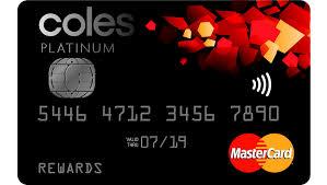 Coles Credit Card Activation