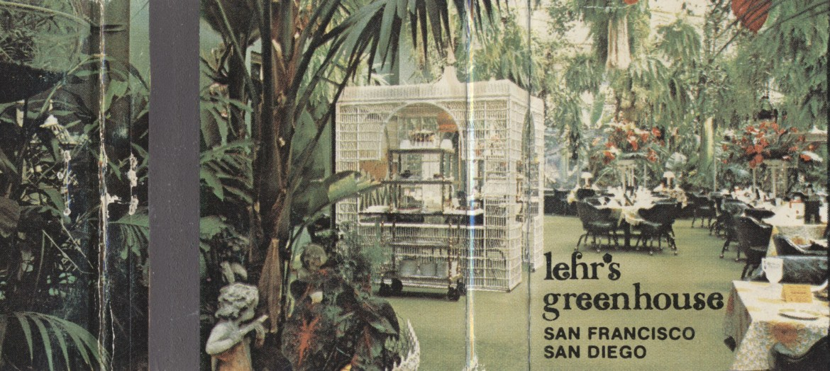 Lehr's Greenhouse – San Francisco & San Diego, California