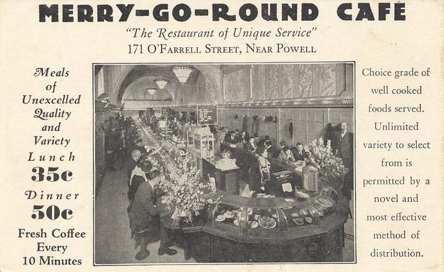 Merry-Go-Round Cafes