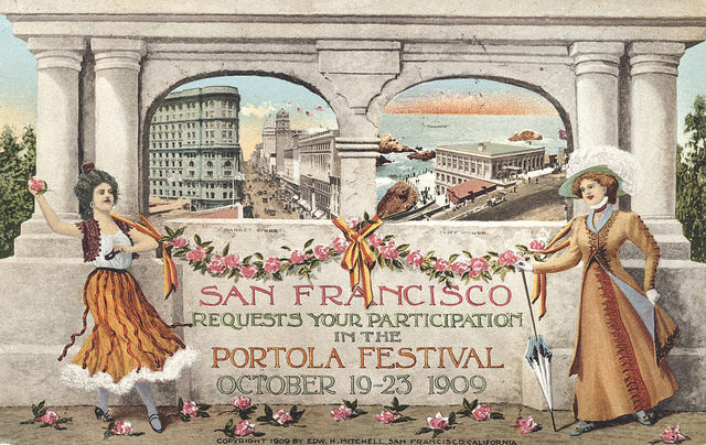 1909 Portola Festival – San Francisco, California