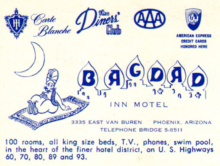 Bagdad Inn – Phoenix, Arizona