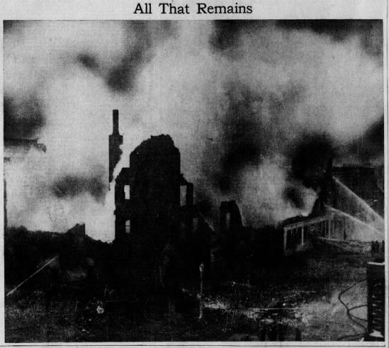 Kerns Hotel Fire – December 11, 1934