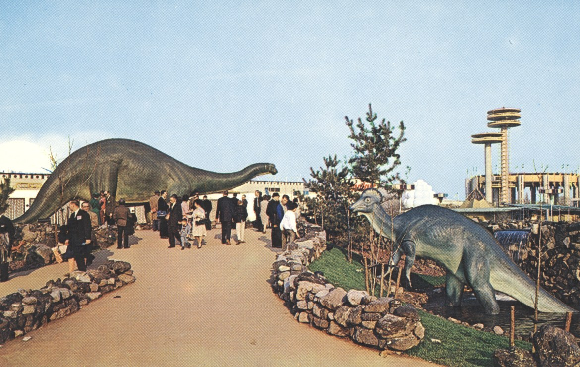 The Exciting World of Dinosaurs at Sinclair Dinoland – New York World's Fair 1964-65
