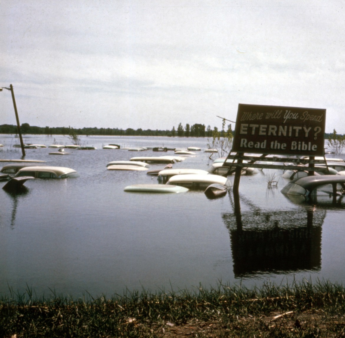 Found Photo Friday: The Flood of '65