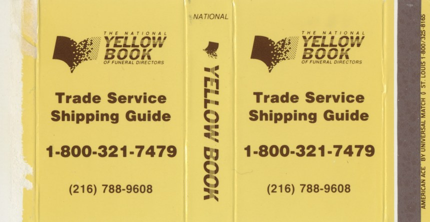 Yellow Pages of Funeral Directors